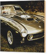 Ferrari 250 Gt Swb Wood Print by Phil 'motography' Clark