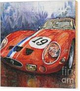 Ferrari 250 Gto 1963 Wood Print
