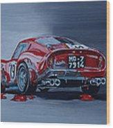 Ferrari 250gto Wood Print