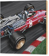 Ferrari 312 F-1 Car Wood Print