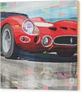 Ferrari 330 Gto 1962 Wood Print