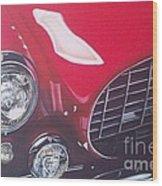 Ferrari 342 Wood Print