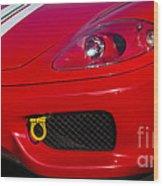 Ferrari 360 Wood Print