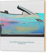 Ferrari California Bunessan Bay Wood Print