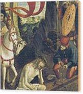 Ferrari, Defendente 1480-1540. Christ Wood Print