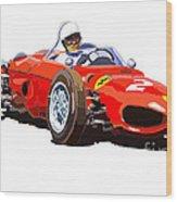 Ferrari Dino 156 1962  Wood Print