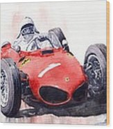 Ferrari Dino 156 F1 1961  Wood Print