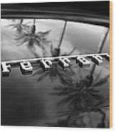 Ferrari Emblem 10 Wood Print