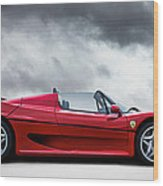 Ferrari F50 Wood Print