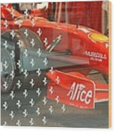 Ferrari Formula One Wood Print