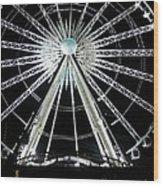 Ferris Wheel 10 Wood Print