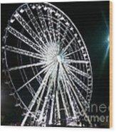 Ferris Wheel 11 Wood Print