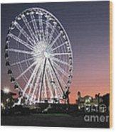 Ferris Wheel 22 Wood Print