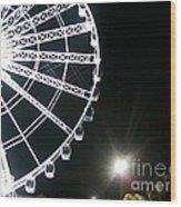 Ferris Wheel 5 Wood Print