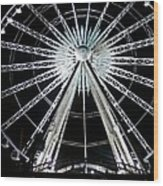 Ferris Wheel 7 Wood Print