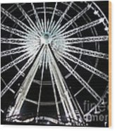 Ferris Wheel 8 Wood Print