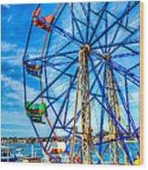 Ferris Wheel - Balboa Fun Zone Wood Print