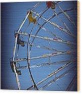 Ferris Wheel II Wood Print