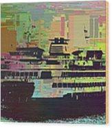 Ferry Cubed 2 Wood Print