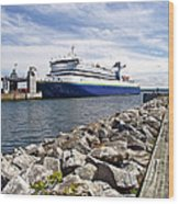 Ferry From North Sydney-ns To Argentia-nl Wood Print