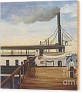 Ferry Hazel  Wood Print