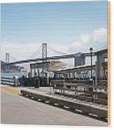 Ferry Terminal Wood Print