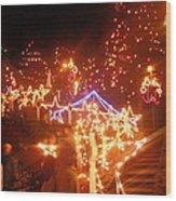 Festival Of Lights Wood Print