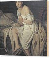 Fiamminghi, Giacomo 1815 - 1895. Love Wood Print
