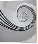 Fibonacci Wood Print