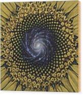Fibonaccis Mandela V.2 Wood Print