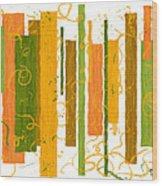 Fibrous Wood Print