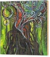 Ficus Wood Print