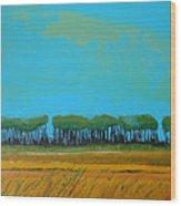 Field 5 Wood Print