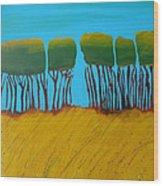 Field 7 Wood Print
