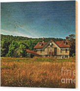 Field Of Broken Dreams Wood Print