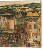 Field Of The Cloth Of Gold Wood Print
