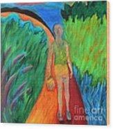 Fields Of Agave II Wood Print