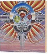 Fiesta De Colores Wood Print