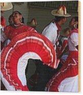 Fiesta De Los Mariachis Wood Print