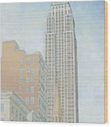 Fifth Avenue Morning Wood Print