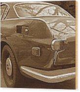 Fifties Volvo I I Wood Print