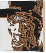 Fifty Cent Rapper Wood Print