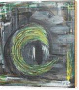 Fifty Shades Of An Eye Wood Print