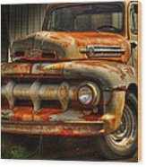 Fifty Two Ford Wood Print