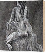 Figure Drawing 2 Wood Print