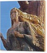 Figurehead Wood Print