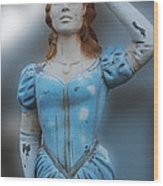 Figurehead Wood Print