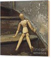 Figurine Wood Print