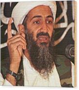 FILE PHOTO  Colin Powell Warns Of Bin Laden And Iraqi Partnership Wood Print