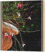 Filigree 4 In A Frame Wood Print
